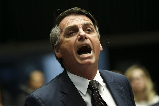 Jair Bolsonaro initially said he would attend the rallies on Sunday, but changed his mind later - Créditos: Marcelo Camargo/Agência Brasil