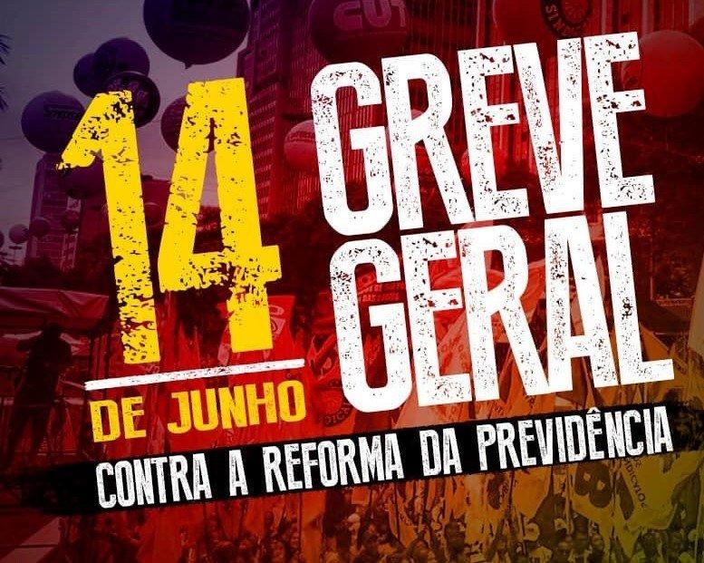 Há dois anos, a greve geral mobilizou 40 milhões de brasileiros - Créditos: Divulgação