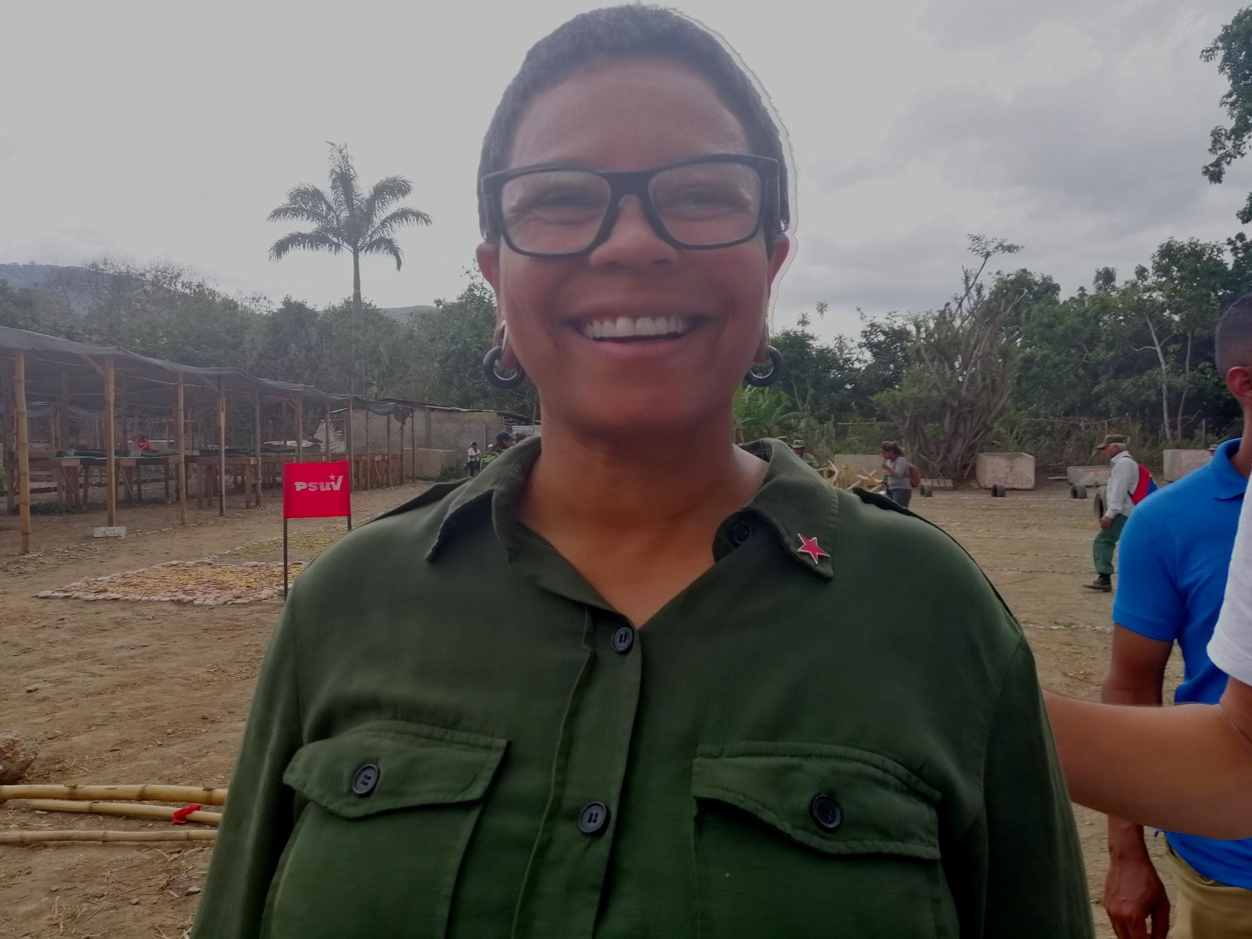 """""""Fazemos tudo para que a paz impere"""", diz prefeita de Caracas sobre brigadas civis"""