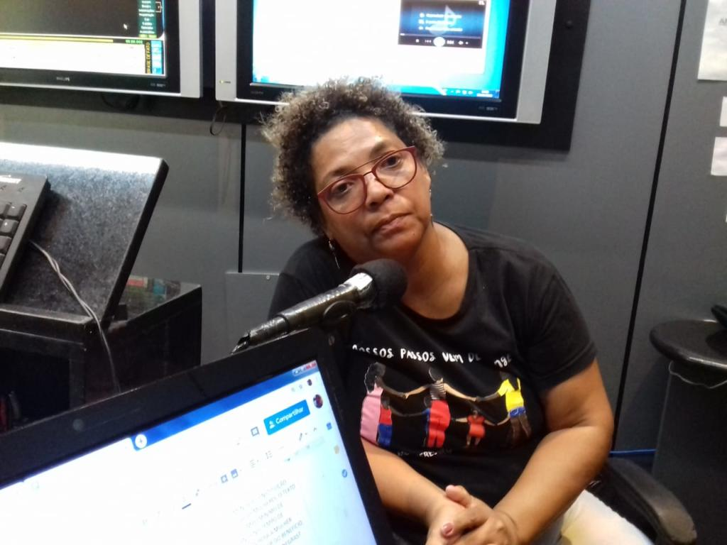 """Piedade Marques falou sobre o evento """" Mulheres Negras em Movimento e a Reforma da Previdência"""" - Créditos: Fátima Cleilma"""