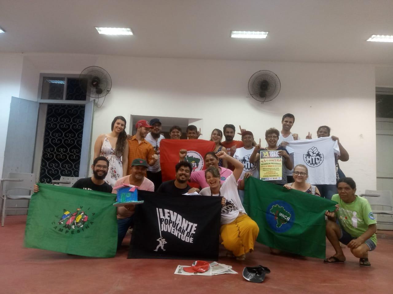 Movimentos debatem as cidades - Créditos: Luana Caroline