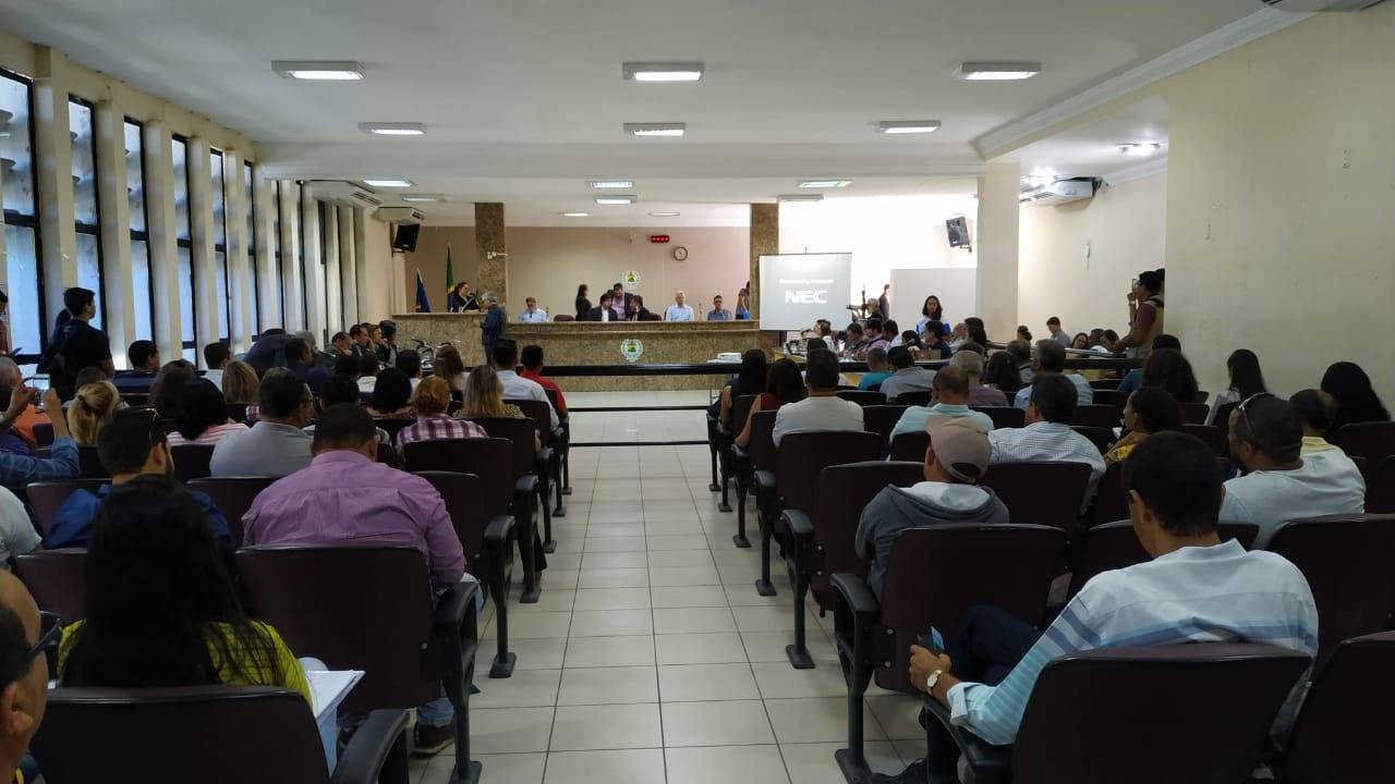 Realizada na Câmara de Vereadores de Petrolina, a atividade reuniu parlamentares  - Créditos: Vanessa Gonzaga