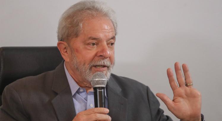 """Lula está preso desde abril do ano passado na superintendência da Polícia Federal, em Curitiba (PR), pelo """"caso triplex"""" - Créditos: Ricardo Stuckert"""