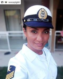 """#44 """"Pessoas trans não têm escolha de não lutar"""" Bruna Benevides, segunda-sargenta da Marinha"""