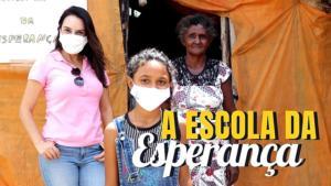 """Conheça no programa Bem Viver a """"Escolinha da Esperança"""" criada por menina de 12 anos"""