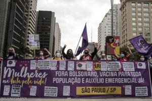 SOF: Mulheres na mobilização popular para derrotar o bolsonarismo e colocar a vida no centro